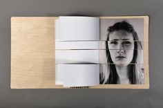 Visual Emotion - Alexandra Habermehl Portfolio #cover #wood #book