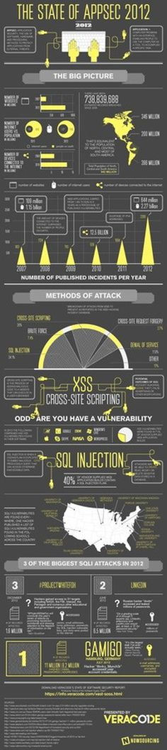 State of App Security 2012 Infographic #security #2012 #infographic #design #graphic #app