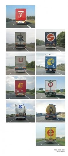Alphabet Truck vol. 2 : Eric Tabuchi #truck alphabet
