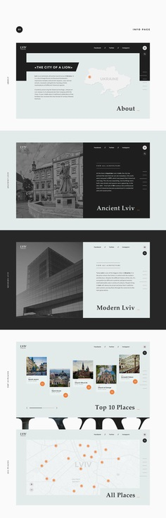 Lviv architecture on Behance