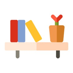 See more icon inspiration related to shelf, book, book shelf, furniture and household, stored, storage, books and library on Flaticon.