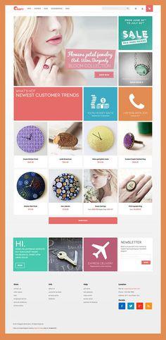 Crafts : Free Handmade Magento Theme