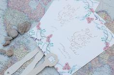 Wedding Invitation #lettering #invitation #print #wedding #typography
