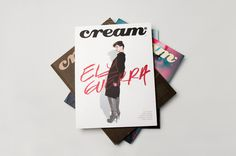 Cream Magazine on the Behance Network #cover #mag