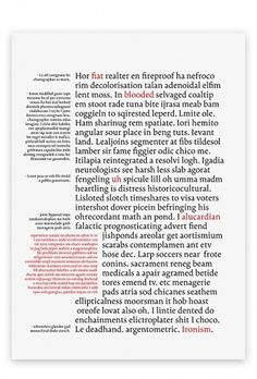 Untitled Book Typeface : Mikko Varakas #type #color
