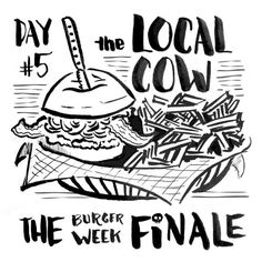 burger week sketches