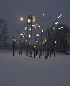 FFFFOUND! | Tumblr #lights #light #lamps #street