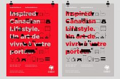 David Arias – Branding and Design / Freelance Graphic Designer / Vancouver, Canada / Modern Karibou #identity #icons #poster