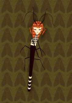 insekta 2.5 : Cristian Grossi illustrator and creative designer #illustratiom #texture