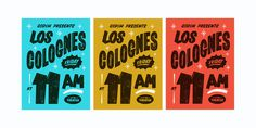 Los_colognes_posters_large #butcher #posters