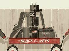 DKNG Studios » Posters #black #poster #keys