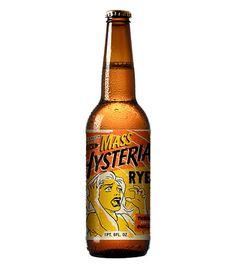 Mass Hysteria Rye #packaging #beer #label #bottle