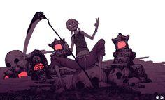 reaper by scary-PANDA on deviantART