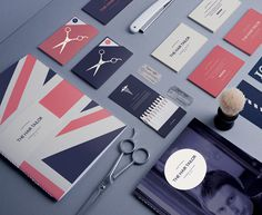 The Hair Tailor on Behance #barber #stationary