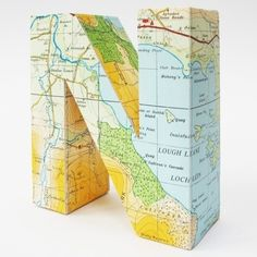 BMD Love Blog #letter #sculpture #map #typography