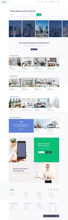 Listing Real Estate Landing Page by rabi islam