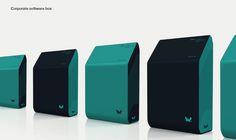 xWare Corporate Identity on Behance #pack #box