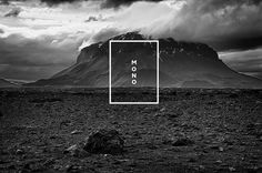 MONO LOGO #photo #mono #identity #poster #logo #bw