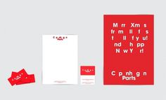 Mads Jakob Poulsen #print #identity #stationary #typography