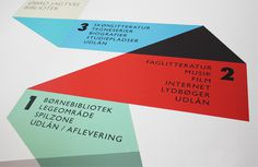 Rama Studio Jagtvej Bibliotek #signage #information