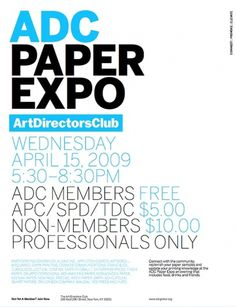 Art Directors Club | Trollbäck + Company #typography