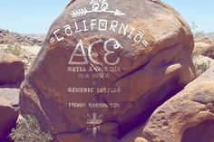 Steven Harrington x ACE Hotel Palm Springs x Generic Surplus 2012 Capsule Collection Preview | Hypebeast #mural #steven #ace #harrington #fashion #type