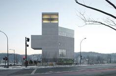 RW Concrete Church by NAMELESS Architecture