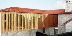 rehabilitation / Turismo Quinta de Sta Cruz Paços de Ferreira 2010 www.artspazios.pt #rehabilitation #architecture #artspazios #rendering