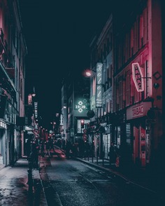 Aesthetics and Cyberpunk Street Photography by Nick Alfonso