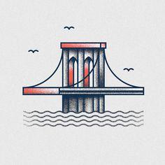 USA on Behance #illustration #texture #grunge