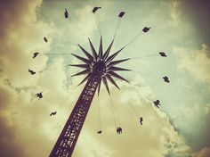 Random shots on the Behance Network #carnival #ride #photography #vintage #fun