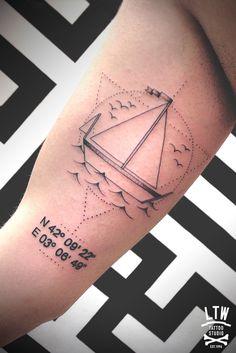 coordenadas #tattoo