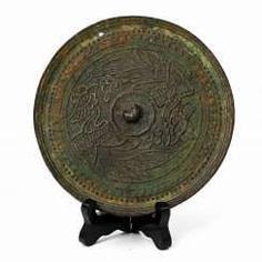 Antique Bronze Mirror. CHINA