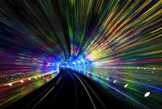 Flowing through China #shanghai #wormhole #the #speed #photography #light
