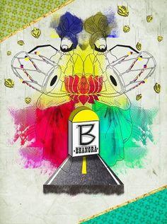 Alphabet Book on the Behance Network #bhangra #india #poster