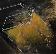 philiplavelle_01 #abstract #geometry #space #painting