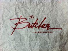 Dribbble - #butcher #script #logo #type #typography