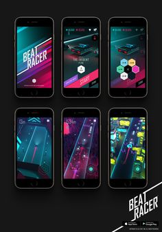 #beatracer #gui #game #jmchoe #lilasoft #neon