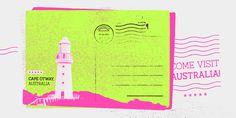 Austral slab handwritten font antipixel mindsparkle mag neon yellow pink typography type design