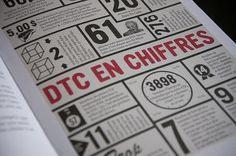 URBANIA - DARE TO CARE : Sébastien Bisson #print #detail #typography