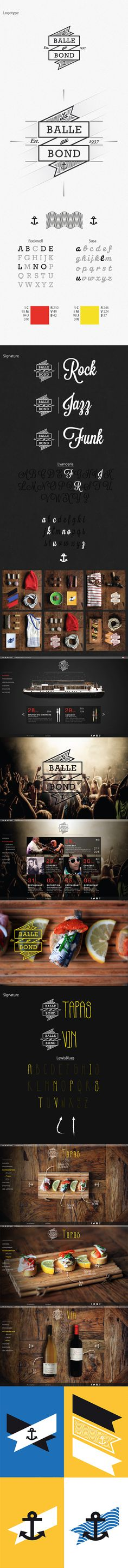 Balle au Bond on Behance #logotype #identity