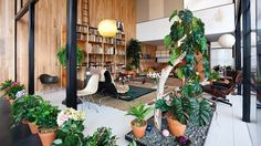 Replica Of Charles And Ray Eames's Living Room