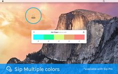 SIP colour picker for designers