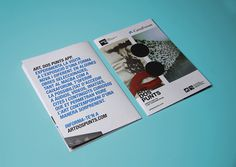 Art, dos Punts Communication #caixaforum #macba #print #design #contemporary #art #barcelona #brochure