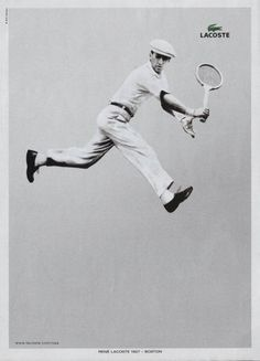 Lacoste Style #tennis #jumping #lacoste