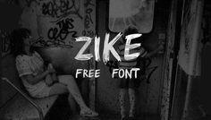 Zike – Free Typeface