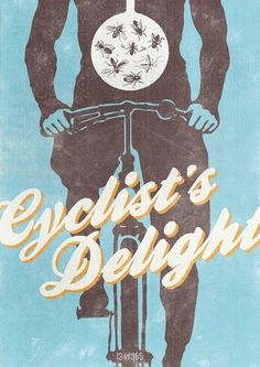 134/365 - The All Day Everyday Project | Flickr - Photo Sharing! #bicycle #design #graphic #illustration #poster #cycling