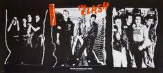 The Clash American Promotional Poster, 1979