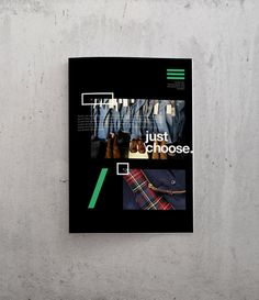 Garage #layout #editorial #magazine