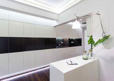 Space-Saving Design for Small Apartment - InteriorZine